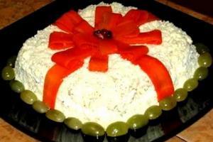 новые рецепты салаты к новогоднему столу