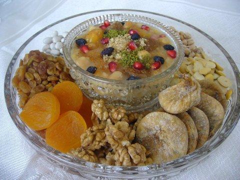 Рецепт ашуре – кутьи по-турецки