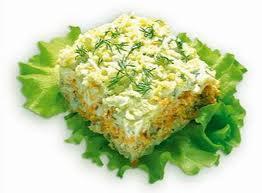 Приготовление любимого всеми салата Мимоза