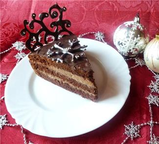 Отличный рецепт новогоднего тортика