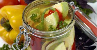 Заготовка вкусных салатов на зиму