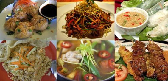 Популярные блюда тайской кухни